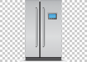 冰箱家电Congelador,冰箱元素PNG剪贴画角度,电子产品,厨房用具,