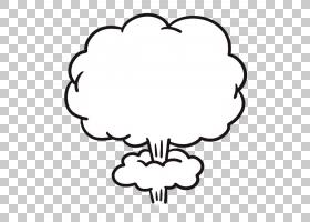 蘑菇云卡通爆炸,喷气机图标PNG剪贴画爱,白色,叶,文本,云,相机图