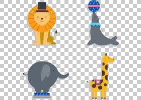 马戏团大象,马戏团动物PNG剪贴画杂项,哺乳动物,性能,脊椎动物,长
