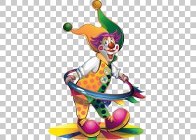 生日股票派对,小丑PNG剪贴画祝你生日快乐,表演,气球,小丑帽,虚构