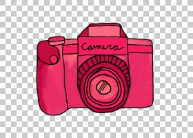 相机卡通绘图,粉红色相机的PNG剪贴画文字,摄影,矩形,纺织,洋红色