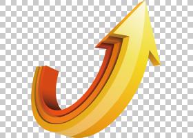 箭头图标,箭头材料PNG剪贴画角度,3D计算机图形学,摄影,橙色,徽标