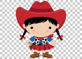 牛仔马,女牛仔PNG剪贴画杂项,儿童,帽子,其他,版权,卡通,虚构人物