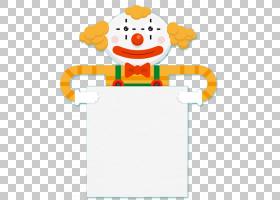 小丑生日,卡通小丑边框PNG剪贴画边框,框架,食品,笑脸,边框框架,