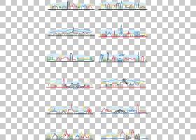 建立名人剪影建筑,卡通棒图线城市PNG剪贴画角度,文本,城市,抽象