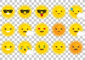 欧几里德图标,太阳表达PNG剪贴画向日葵,向日葵种子,卡通,花卉,阳
