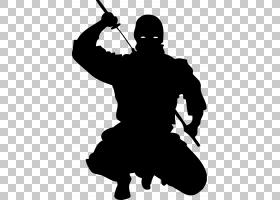 忍者日本武术Ninjutsu,Ninja PNG剪贴画的阴影游戏,卡通,虚构人物