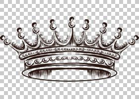 欧几里德皇冠,皇冠PNG剪贴画标签,复古,生日快乐矢量图像,皇家皇