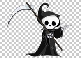 死神,死神,死神PNG剪贴画万圣节快乐,卡通,虚构人物,桌面壁纸,艺