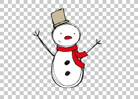 圣诞卡欧几里得圣诞装饰,雪人PNG剪贴画杂项,生日快乐矢量图像,虚