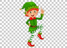 圣诞老人圣诞精灵,绿色精灵PNG剪贴画儿童,食品,小精灵,圣诞节装
