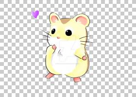 坎贝尔的侏儒仓鼠Roborovski仓鼠绘图Kavaii可爱,豚鼠PNG剪贴画哺