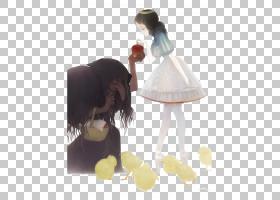 女王雪白粉丝艺术童话,白雪公主和女巫PNG剪贴画爱情,白色,黑色白