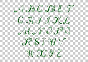 字母案例字母表四叶草,圣帕特里克节信艺术字PNG剪贴画假期,文本,