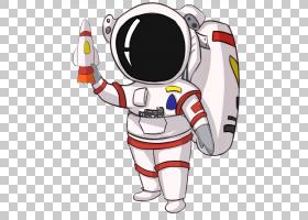 宇航员外太空欧几里德,宇航员PNG剪贴画虚构人物,卡通,材料,科学