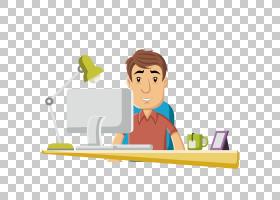 卡通人工,工人PNG剪贴画手,阅读,业务人,男人剪影,封装的PostScri