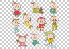 卡通婴儿可爱,儿童PNG剪贴画儿童服装,儿童,画,人,幼儿,生日快乐