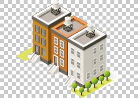 卡通绘图,树建筑PNG剪贴画其他,建筑,公寓,技术建筑,互联网,产品,