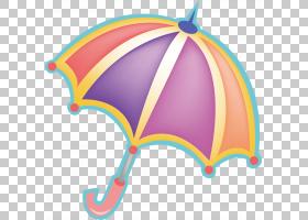 伞卡通,伞材料PNG剪贴画png材料,儿童,生日快乐矢量图像,插画,材