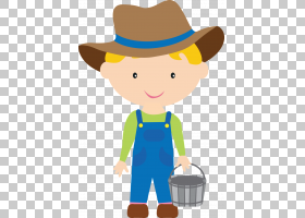 农夫男孩内容,男孩农场的PNG剪贴画儿童,帽子,蹒跚学步,男孩,牛仔