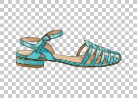 凉鞋鞋时尚针,夏季凉鞋PNG剪贴画户外鞋,卡通,夏季元素,人字拖鞋,