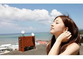 女人,Aizawa,Rina,模型,日本,壁纸,(3)