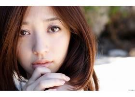女人,Aizawa,Rina,模型,日本,壁纸,(8)