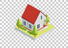 3D计算机图形房子三,维空间,3D房子模型PNG剪贴画名人,3D计算机图