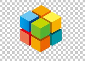 3D计算机图形立方体信息,立方体PNG剪贴画3D计算机图形学,公司,矩
