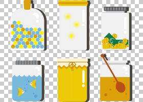 JAR,jar PNG剪贴画玻璃,蜂蜜罐,蜂蜜罐,生日快乐矢量图像,封装的P图片