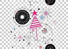 绘图,星星背景PNG剪贴画海报,对称性,生日快乐矢量图像,卡通,桌面