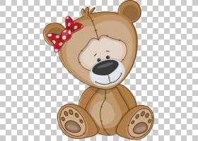绘图友谊,卡通熊PNG剪贴画爱,卡通人物,哺乳动物,儿童,动物,carni图片