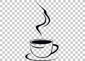 茶杯咖啡咖啡馆,卡通咖啡PNG剪贴画卡通人物,玻璃,手,茶,单色,漫