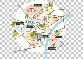 地图,卡通块图PNG剪贴画信息图表,卡通人物,角度,计划,生日快乐矢