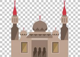城市建筑伊斯兰建筑,城堡建筑PNG剪贴画建设,生日快乐矢量图像,世
