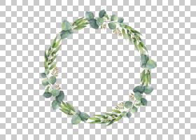 婚礼邀请水彩绘画叶子,水彩叶子,绿色生叶植物PNG clipart水彩叶