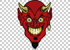 恶魔的野兽数,魔鬼PNG剪贴画卡通,虚构人物,剪贴画,艺术,嘴,神话