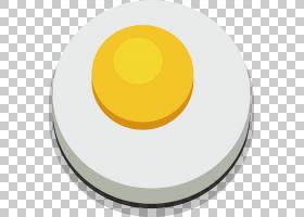 材料黄色圆圈,太阳煎蛋卷PNG剪贴画食品,早餐,橙色,生日快乐矢量