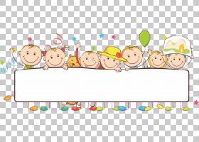 横幅儿童,卡通小孩,儿童PNG剪贴画卡通人物,食品,文本,摄影,人,儿