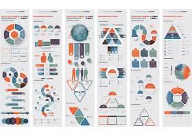 丰富多彩的细节信息图表元素的集合