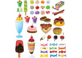 冰淇淋糖果素材