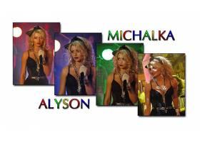 女人,艾莉森,Michalka,女演员,一致的,州,壁纸,(3)