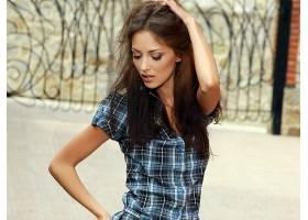 女人,安娜,Sbitnaya,模型,乌克兰,妇女,模型,棕色,头发,长的,头发