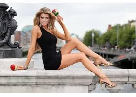 女人,Elle,Liberachi,模型,一致的,王国,壁纸,(2)