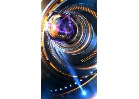 H5炫彩科技背景图片