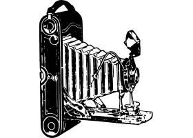 手绘复古相机产品设计
