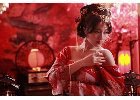 女人,亚洲的,妇女,发型设计,国家的,穿衣,蜡烛,台湾的,壁纸,