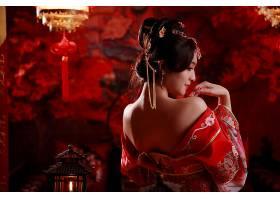 女人,亚洲的,妇女,国家的,穿衣,发型设计,蜡烛,台湾的,壁纸,