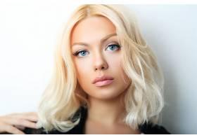 女人,脸,妇女,模特,女孩,白皙的,蓝色,眼睛,壁纸,(4)