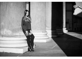 女人,模特,模特,妇女,女孩,黑色,白色,壁纸,(6)